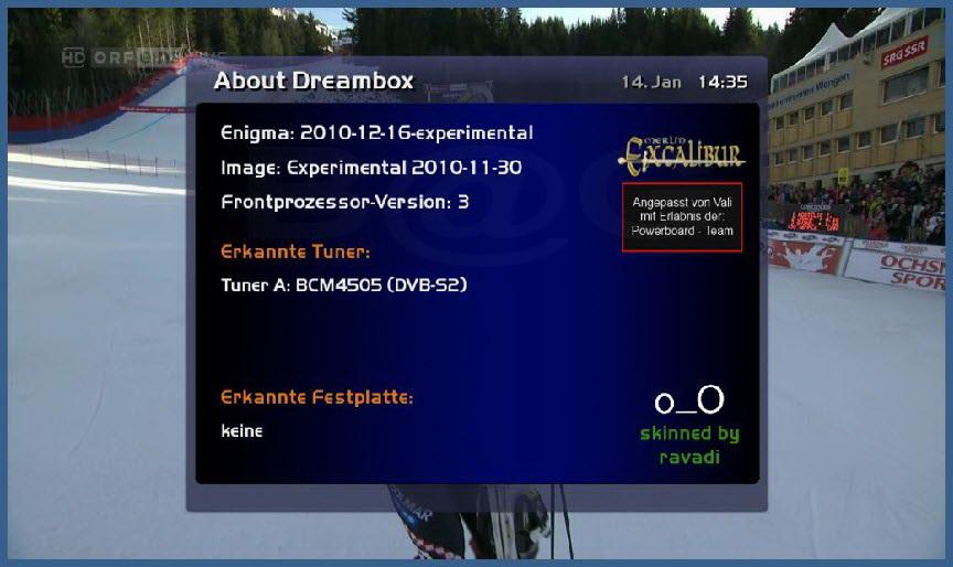 Skin E2- OneKeyBlue For Merlin2-Excalibur